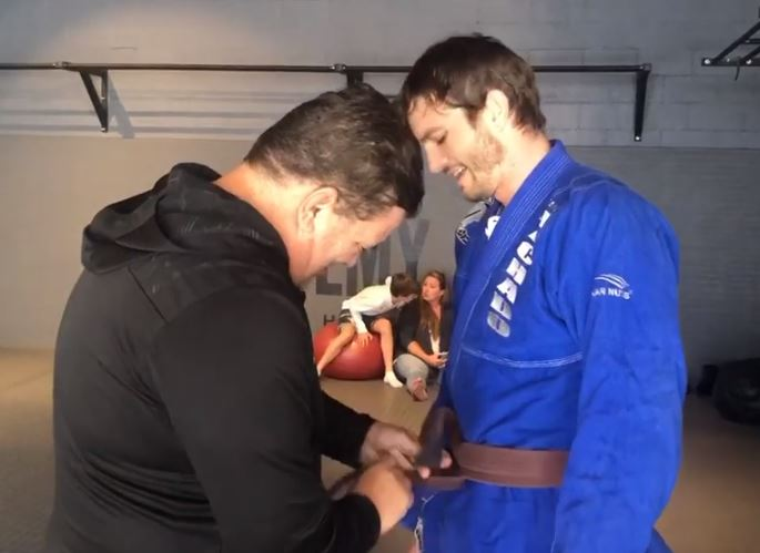 ashton kutcher paulo costa UFC BJJ