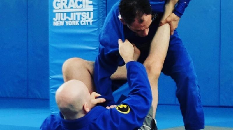 John Danaher Training With Smaller Partners