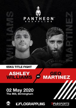 Pantheon Grappling Geo Martinez v Ashley Williams