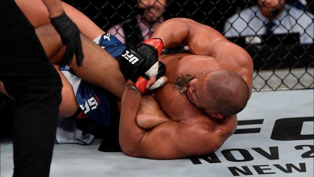 UFC Heelhook Finish