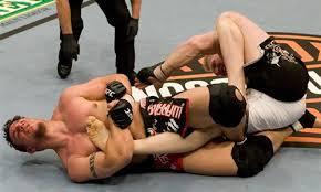 UFC Kneebar Finish
