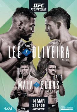 UFC Brasilia Fight Night 170 Results