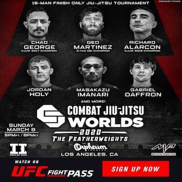 Combat Jiu Jitsu Worlds Featherweights 2020