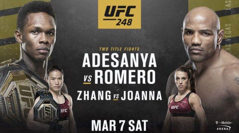 UFC 248 Israel Adesanya v Yoel Romero