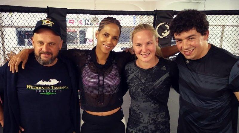 Halle Berry MMA Valentina Shevchenko