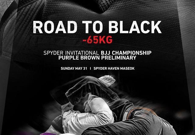 Spyder BJJ Road to Black Invitational