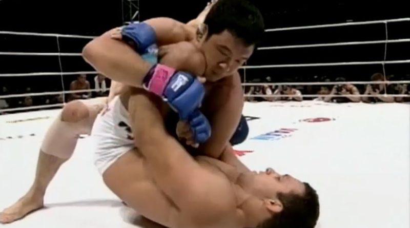 Kazushi Sakuraba Renzo Gracie Pride 10