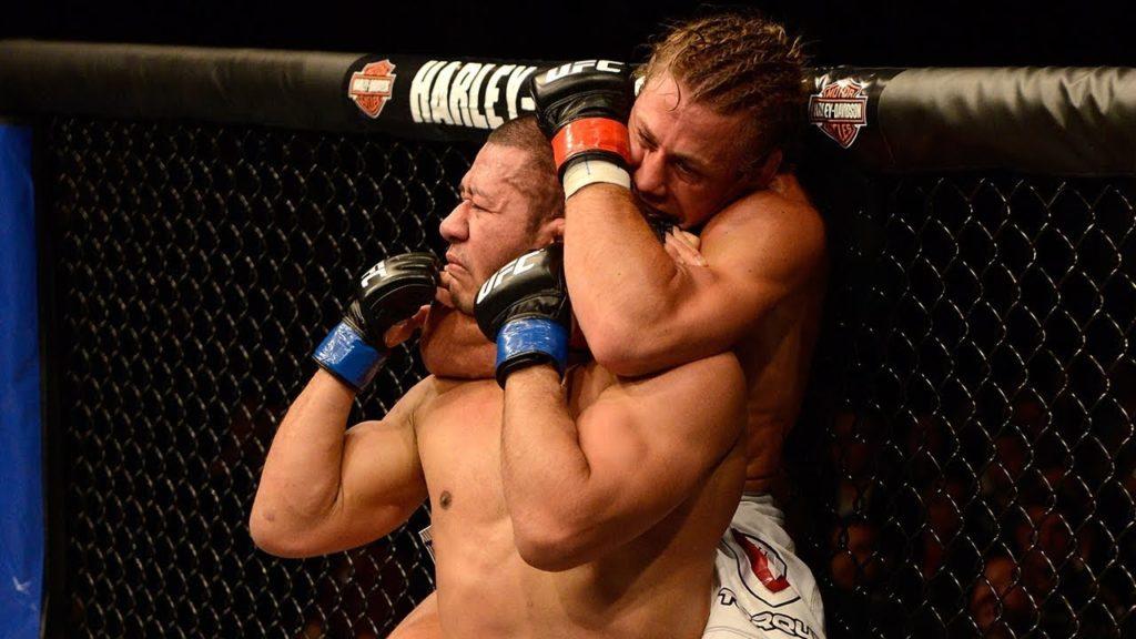 Standing Rear Naked Choke Finish UFC History