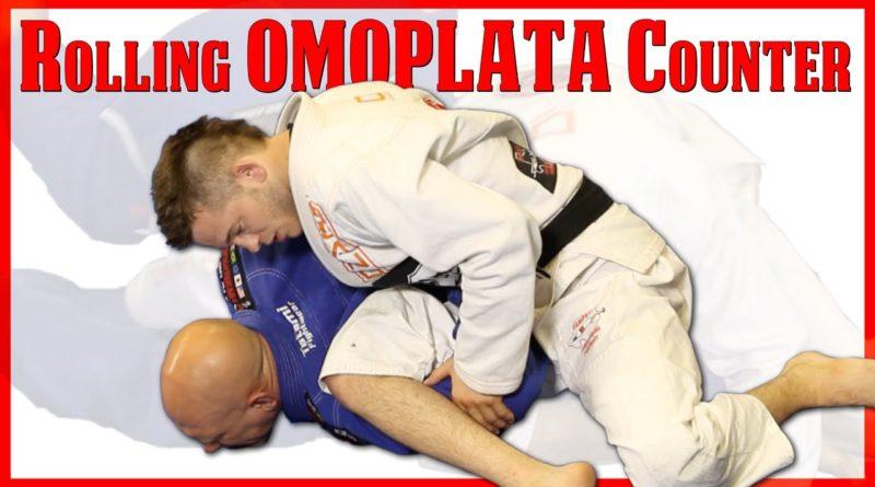 Rolling Omoplata Escape Counter