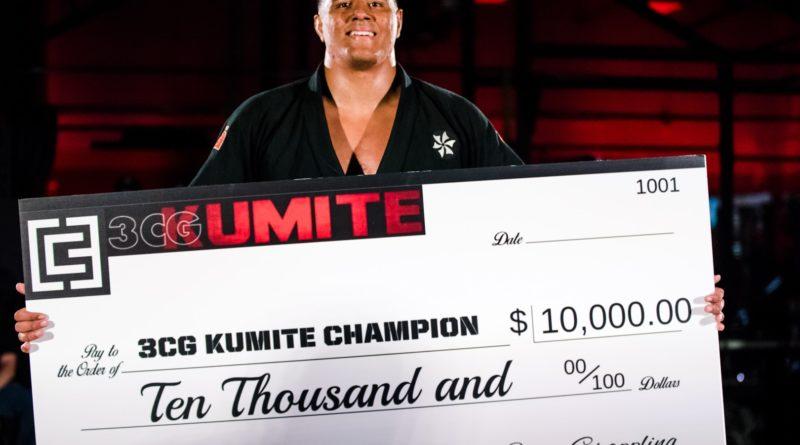 Victor Hugo with the 3CG: Kumite II $10K prize