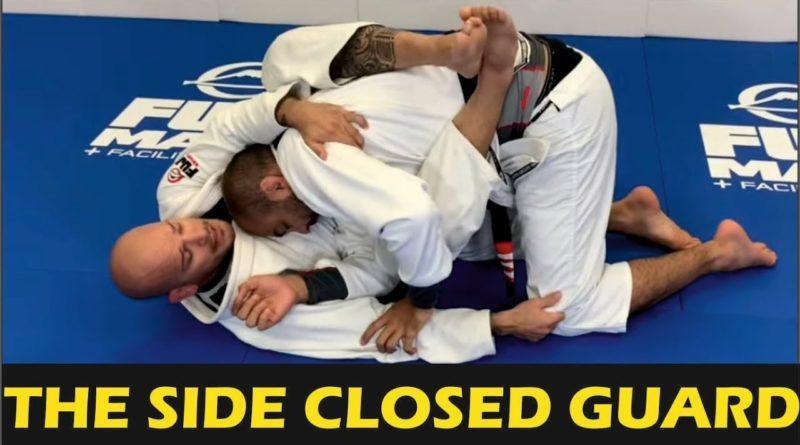 Xande Ribeiro Side Closed Guard