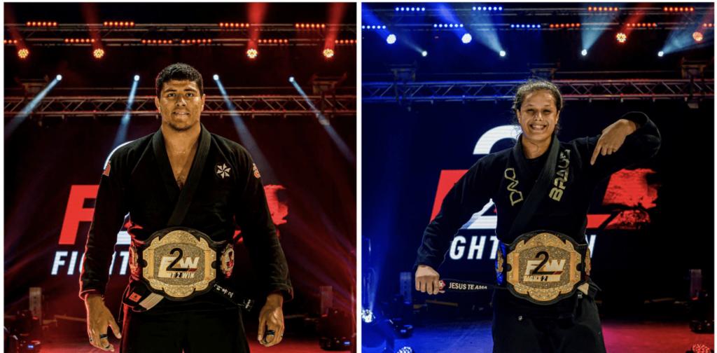 Fight 2 Win 143 Champions Victor Hugo Nathiely Karoline
