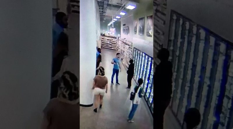 BJJ Black Belt Grocery Store Manager Aggressive Customer