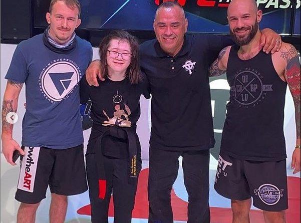 Grace Gundrum gets her black belt