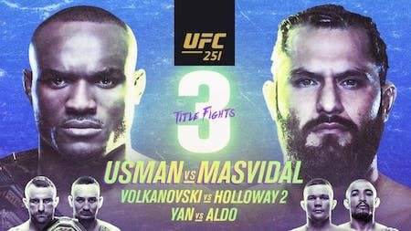 UFC 251 Full Card and preview