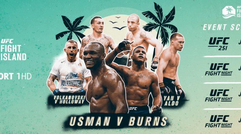 UFC Fight Island Header