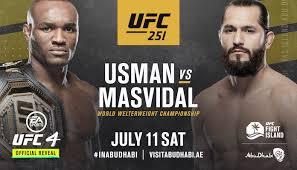 Usman vs Masvidal