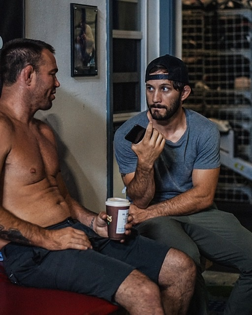 I interview Jake Shields at El Nino Training Center.