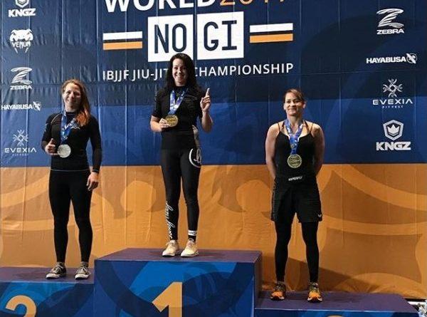 Jena Bishop, No Gi Worlds 2017 champion