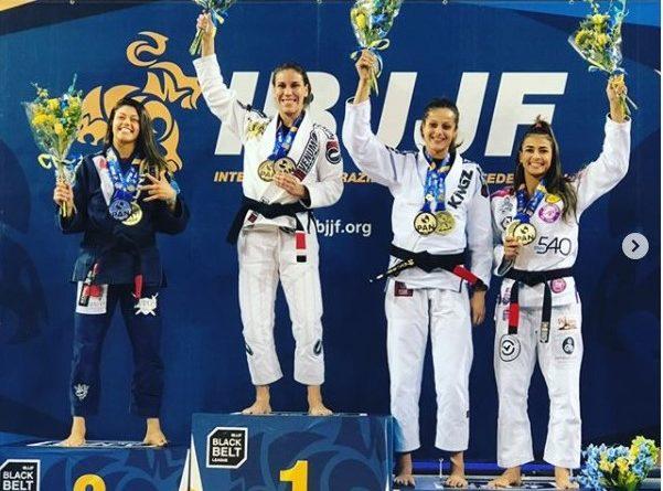 Luiza Monteiro, champion