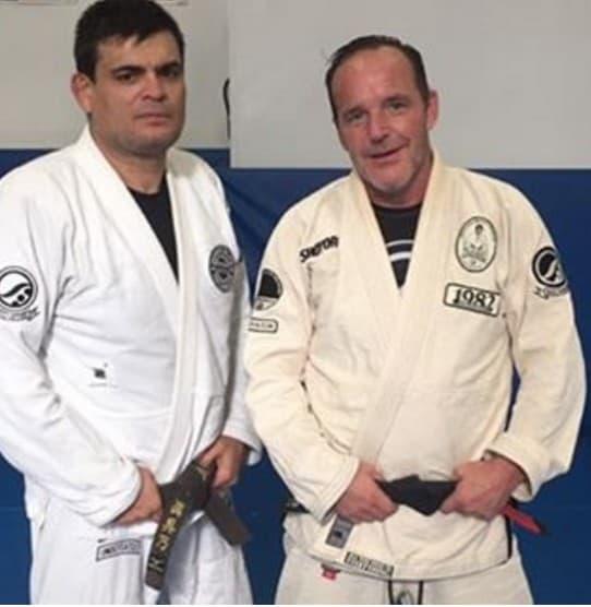 Clark Gregg bjj black belt