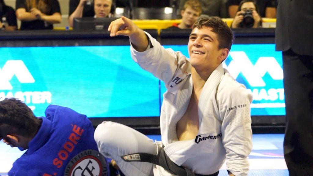 Mikey musumeci IBJJF Pans heavyweight