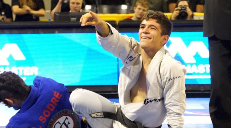 mikey musumeci out IBJJF Pans 2020