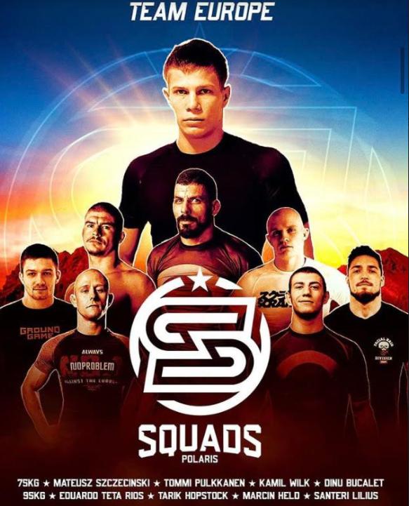 Team Europe Polaris Squads 2020