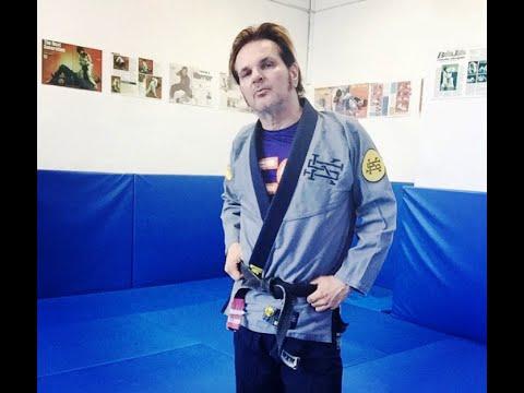 Rikki Rocket BJJ black belt