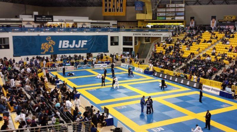 IBJJF tournament.