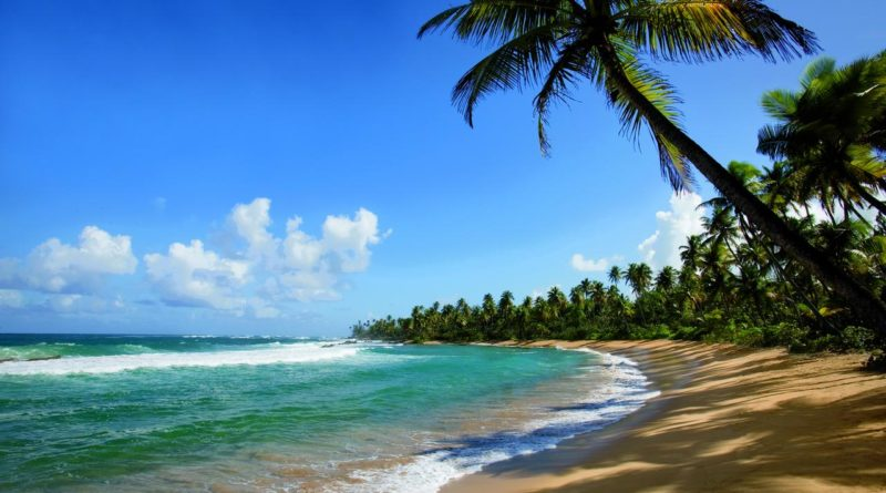 Photo of a beach in Puerto Rico.